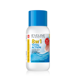 EVELINE, 8In1 Total Action Nail Polish Remover