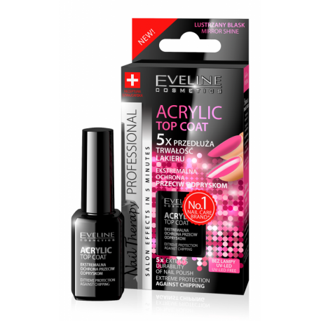 EVELINE, Nail Therapy, Acrylic Top Coat