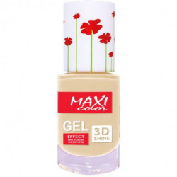 Maxi Color, , Gel Effect, Fresh Summer Nail Polish 10ml