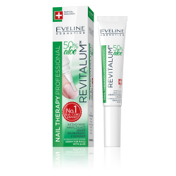 Eveline, Nail Therapy, Revitallum™ Intensely Regenerating Nail Serum With Aloe Vera