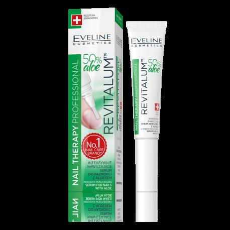 EVELINE, Nail Therapy, Revitallum™ Intensely Regenerating Nail Serum With Aloe Vera